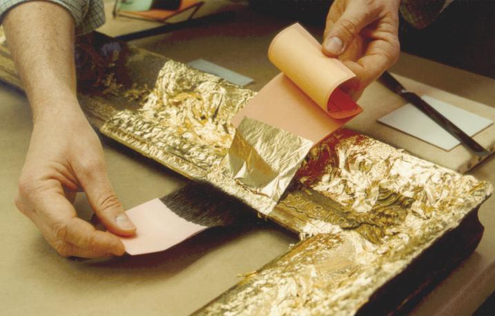 Как сделать золотую фольгу - Приоритет